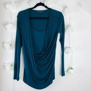 Velvet By Graham & Spencer long sleeve blouse